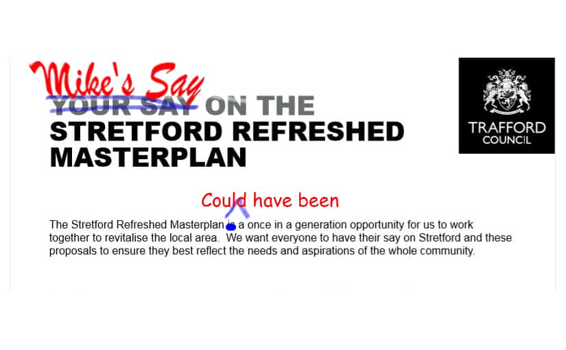 Agonising over Stretford's Canalside Loss