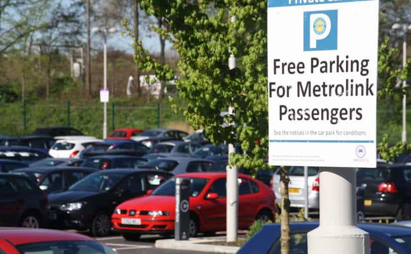 New Park and Ride for Trafford Park Line