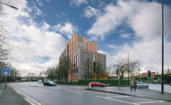 Revised Hotel at Circle Court submitted for planning