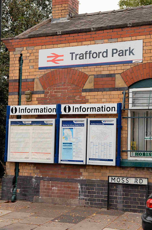 Opp for a community group to take over ticket office at Trafford Park Station?