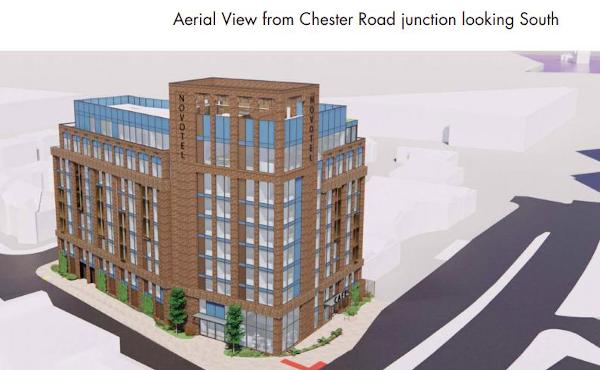 Hotel Plans come again for corner of Warwick Road